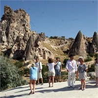 Kapadokya Rekora Koştu