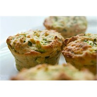 Happy Weekend Sebzeli Muffin