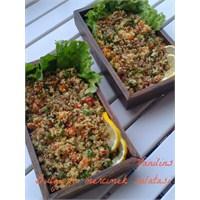 Bulgurlu Mercimek Salatası