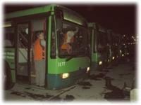 Toplu Taşıma Araçlarımız Nasıl Temizleniyor?