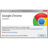 Chrome'dan Güncelleme: Chrome 19