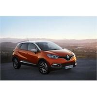 Juke'a Fransız Rakip: Renault Captur