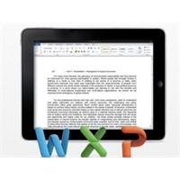 İpad'de Word Dosyalarını Düzenleme Uygulaması