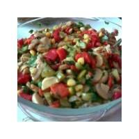 Kırmızıbiberli Mantar Salatası