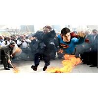 Nevruz'u ' Süper Man' Gibi Atlayarak Kutlayan Baka