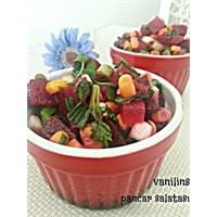 Pancar Salatası Yeşil Soğanlı