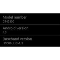 Samsung Galaxy S3 Android 4.3 Güncellemesi Hakkınd