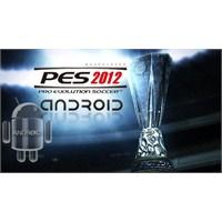 Pes 2012 Android Oyunu