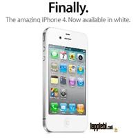 Beyaz İphone 4 Sonunda Piyasada