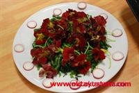 Çiçekli Radika Salatası