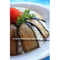 Patlıcanlı Pilav - Birseninmutfagi.Com