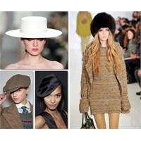 2012 Sonbahar Kış Moda Trendi: Şapkalar