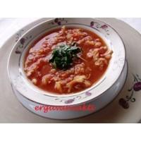 Domatesli Tavuklu Pirinç Çorbası