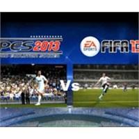 Son Düdük Çalmak Üzere. Fifa 2013 Vs Pes 2013