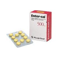 ENTERSAL 500 mg 50 Draje Blister Ambalaj
