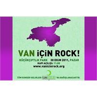 Van İçin Rock Konseri!