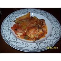 Firinda Patatesli Tavuk