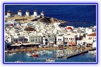 En Çok Ziyaret Edilen Yunan Adası   mykonos