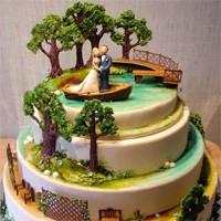 Hem Çılgın Hem Leziz, Yeni Trend Düğün Pastaları!