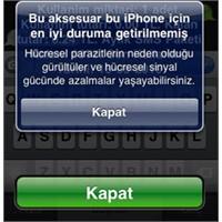 İphone Hatası Ve İlginç Çözümü..