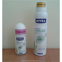 Nivea Pure&naturel Action Roll-on & Deodorant