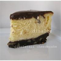 Çikolatalı Cheesecake..Dislace