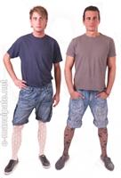 Erkeklerde Tül Çorap Modası