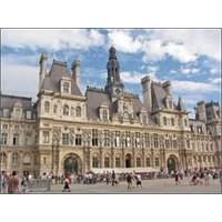 Paris'in Güzel Belediye Binası - Hotel De Ville