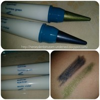 Yeni Avon Chopsticks: Huntress Green Ve Exotic Vio