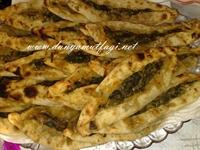Antakya Usulü Fırında Ispanaklı Börek