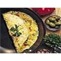 Farklı Tariflerden Kekikli Omlet