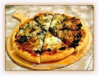 Ispanakla Pizza Yapımı