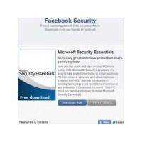 Facebook'tan Antivirüs Koruması