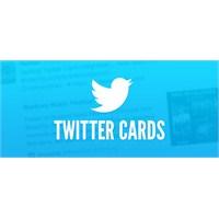 Twitter 'cards' Hizmetini Geliştirdi