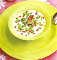 Sakız Kabağı Çorbası
