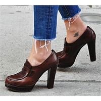 Trend: Topuklu Mokasenler