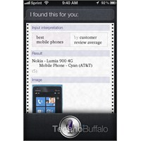 Siri; En İyi Cep Telefonu Lumia 900 !