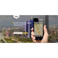Yandex'ten Navigasyon Uygulaması