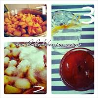 Mutfakta Kış Hazırlığı- Şeftali Reçeli