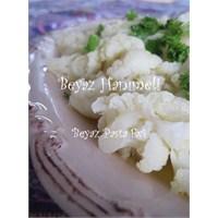 Nefis ve Sağlıklı Bir Salata : Karnabahar Salatası