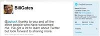 Bill Gates Twitter a Geldiği Gibi Rekor Kırdı