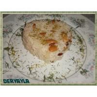 Toz Fıstıklı Bademli Pilav