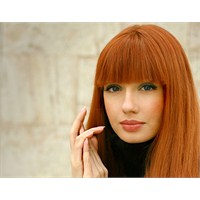 2013 Kızıl Renkli Saç Modelleri