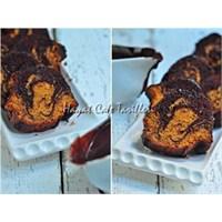 Kakaolu Bal Kabaklı Kek