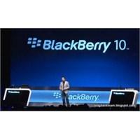 Blackberry 10 Göründü!