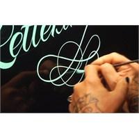 El Emeği Tipografi Sanatı