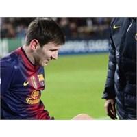 Messi'den Kötü Haber