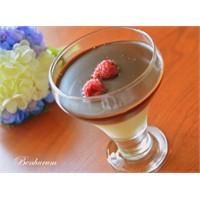 Çikolata Soslu Sürpriz Muhallebi