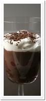 Çikolata Soslu Vişneli Tatlı