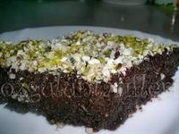 Çikolatalı Bademli Revani